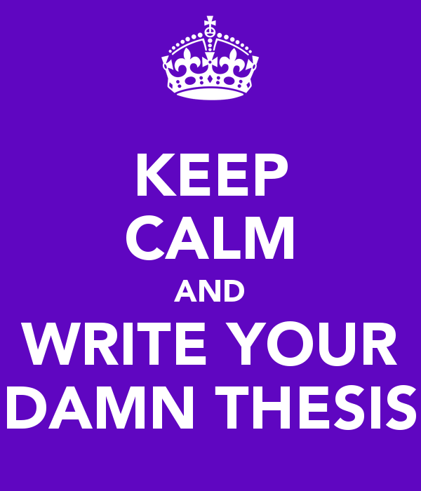 Masters thesis writing help one month
