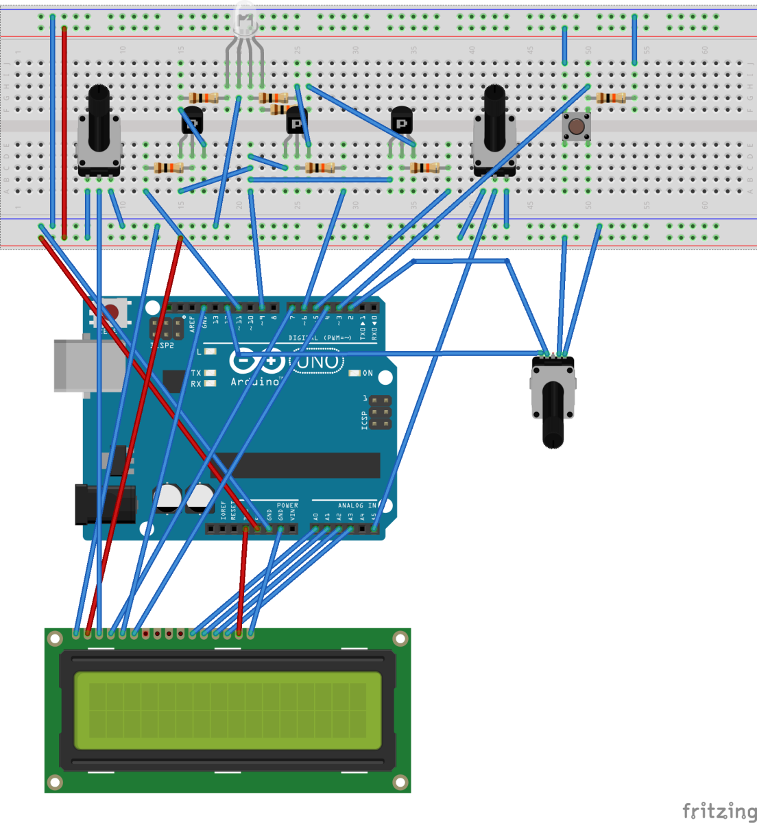 Flicker fusion threshold circuit with Arduino – xcorr: comp neuro